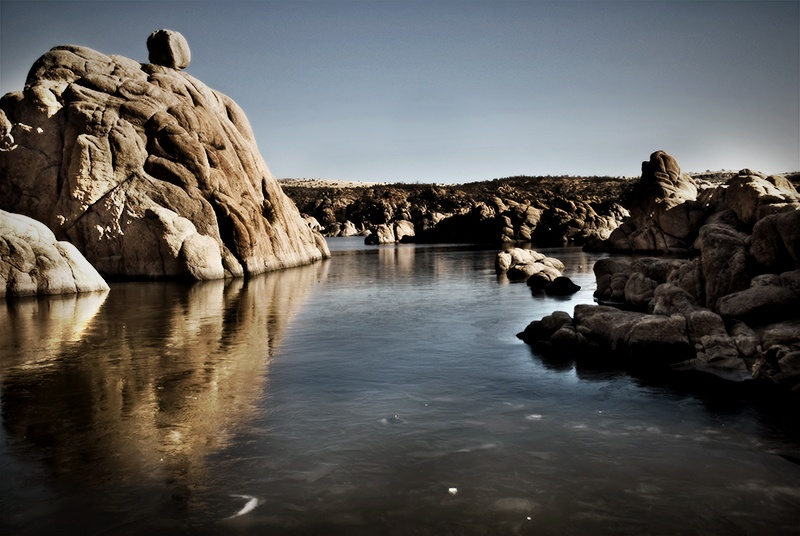 stony place